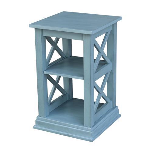 John Thomas Furniture - Hampton Accent Table in Ocean Blue