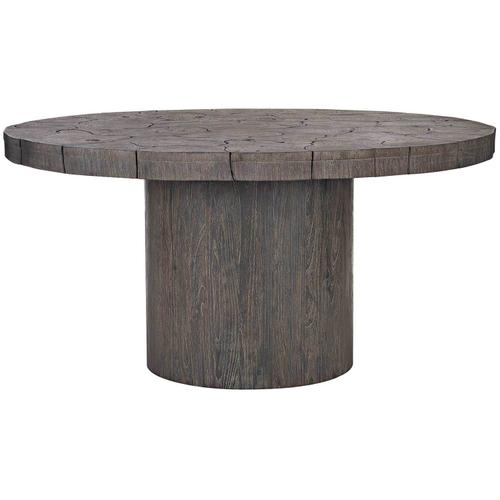 Madura Dining Table in Smoked Truffle