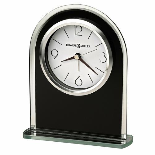 Howard Miller Ebony Luster Table Clock 645702
