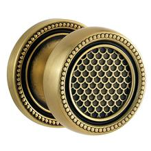 View Product - Satin Brass and Black K004 Estate Knob