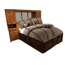 Forest Designs Urban Queen Pier Wall, Platform Bed, & Headboard - Queen