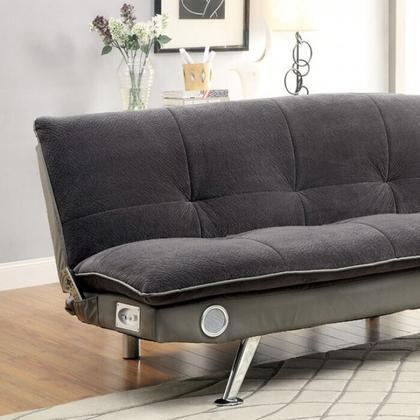 See Details - Gallagher Futon Sofa