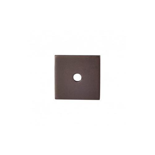 Square Backplate 1 Inch - Oil Rubbed Bronze