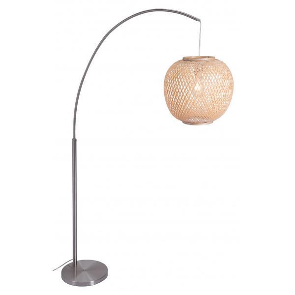 Halzey Floor Lamp Natural