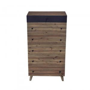 Chelsea Tall Chest/White Marble+Wood+Iron Sheet/30*18*55