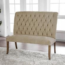 See Details - Sania Love Seat Bench