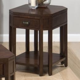 8-leg End Table W/ Drawer and Shelf