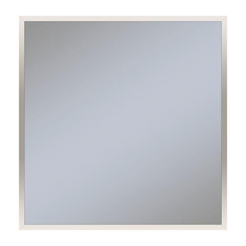 "Profiles 29-1/8"" X 29-7/8"" X 3/4"" Framed Mirror In Polished Nickel"
