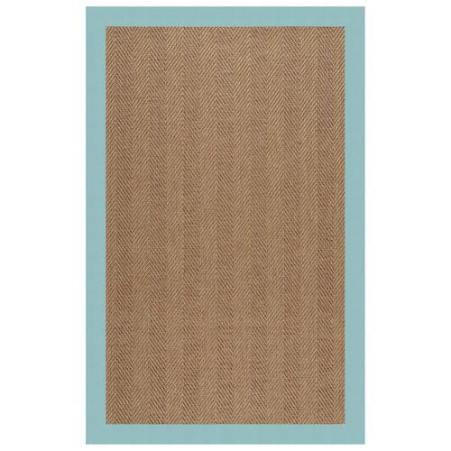 """Capel Rugs - Islamorada-Herringbone Canvas Aquatic - Rectangle - 24"""" x 36"""""""