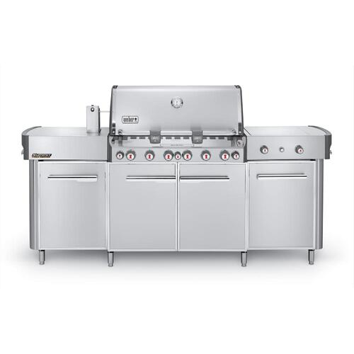 Weber - SUMMIT® GRILL CENTER NATURAL GAS - STAINLESS STEEL