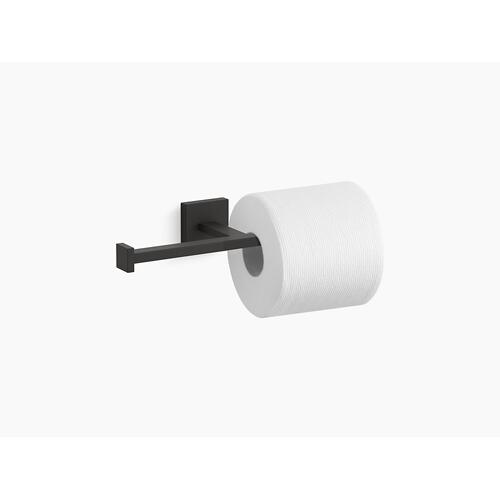 Matte Black Double Toilet Paper Holder