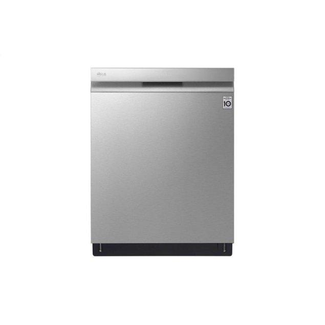 LG Appliances Top Control Dishwasher with Quadwash™ and TrueSteam®