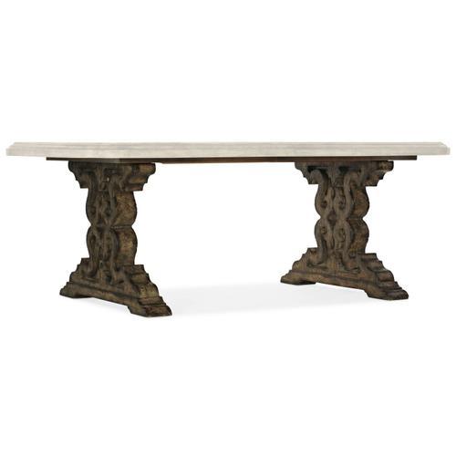 Dining Room La Grange Le Vieux Pedestal Dining Table Base