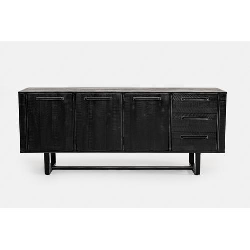 VIG Furniture - Modrest Hardy Modern Black Acacia Buffet