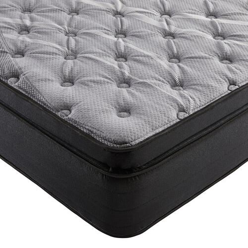 "NightsBridge 15"" Plush Pillow Top Mattress, Queen"