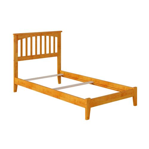 Mission Twin Bed in Caramel Latte