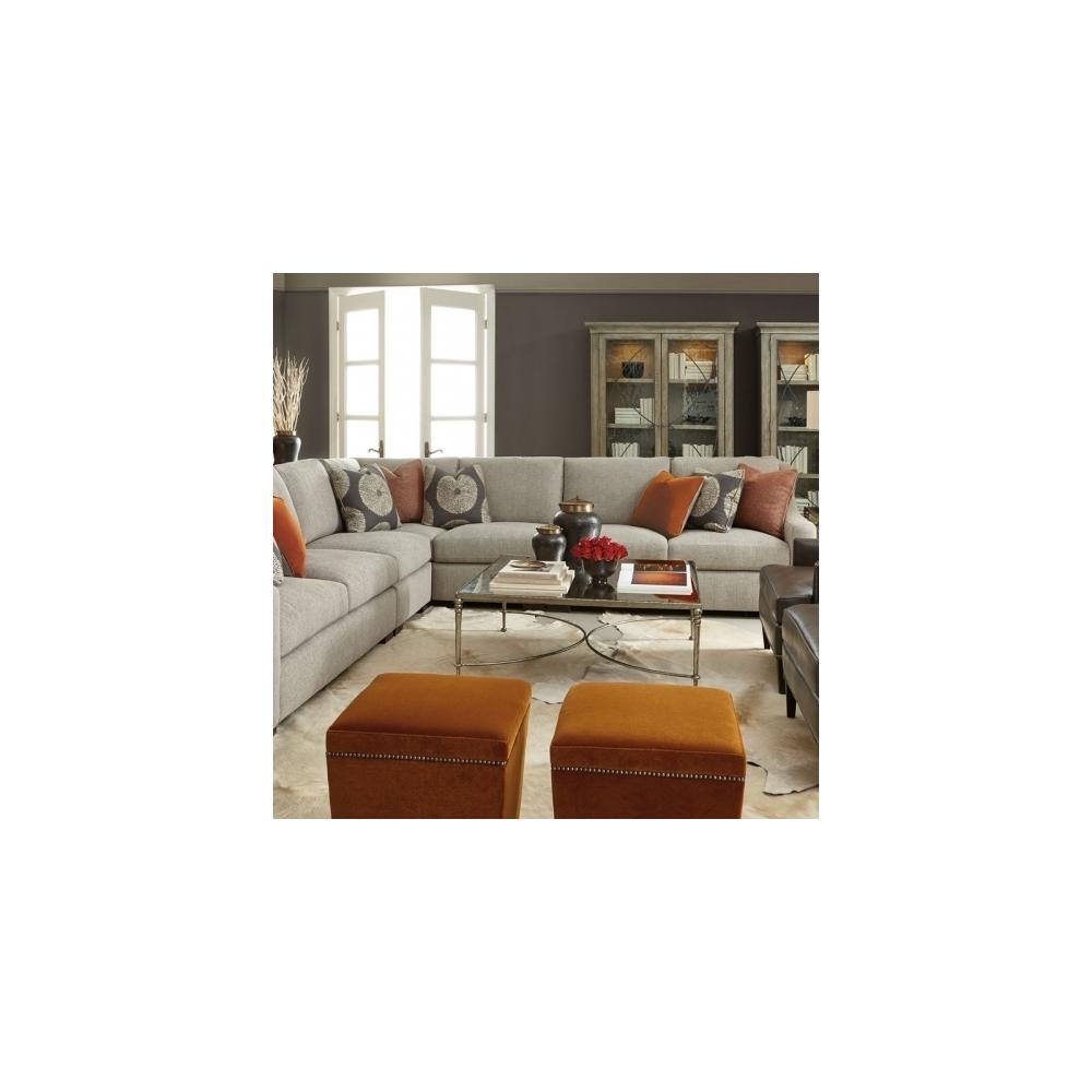 Germain Sectional in Mocha (751)