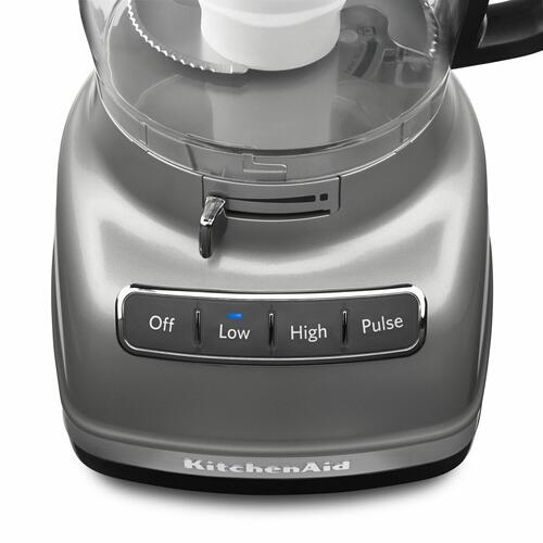 KitchenAid - 11-Cup Food Processor with ExactSlice™ System - Contour Silver
