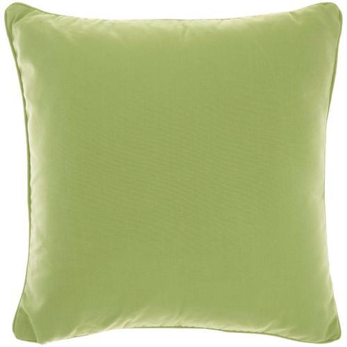 """Outdoor Pillows L9090 Green 18"""" X 18"""" Throw Pillow"""