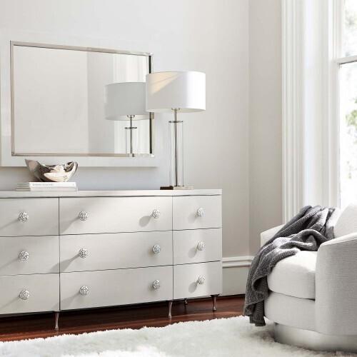 Bernhardt - Silhouette Mirror in Eggshell (307)