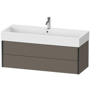 Duravit - Vanity Unit Wall-mounted, Flannel Gray Satin Matte (lacquer)