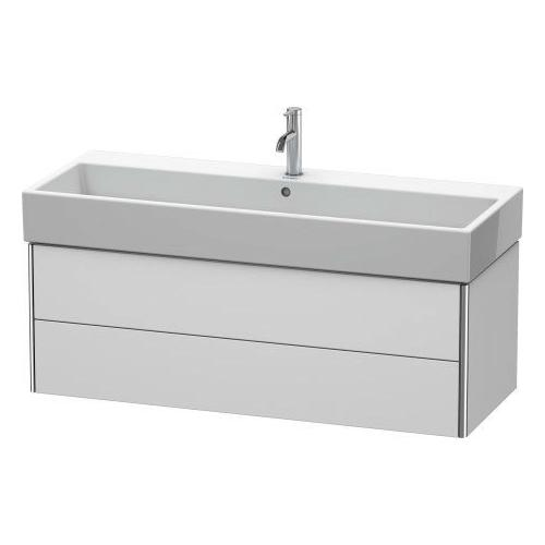 Product Image - Vanity Unit Wall-mounted, White Satin Matte (lacquer)