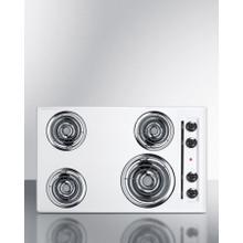 """See Details - 30"""" Wide 4-burner Coil Cooktop"""