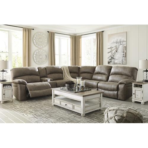 Segburg - Driftwood 4 Piece Sectional