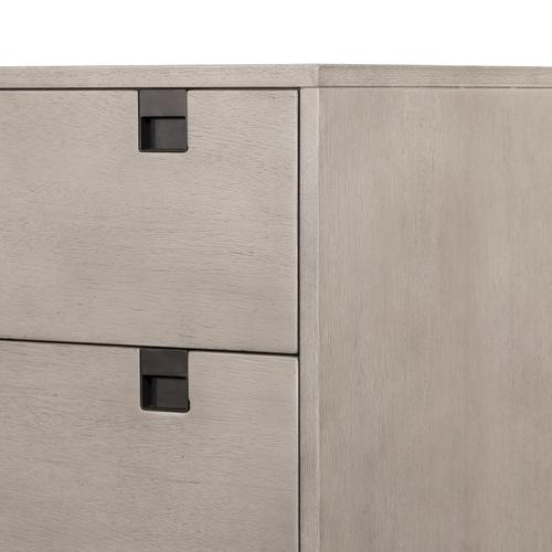 Carly 5 Drawer Dresser-grey Wash