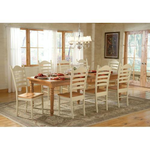 John Thomas Furniture - Farmhouse Table (top only) / Turned Legs (Set of 5)
