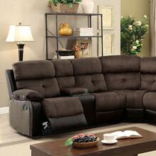 See Details - Hadley Sectional W/ 2 Consoles