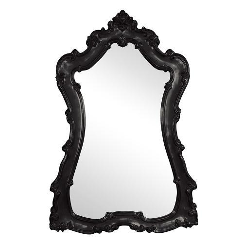 Howard Elliott - Lorelei Mirror - Glossy Black