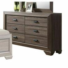 ACME Lyndon Dresser - 26025 - Weathered Gray Grain
