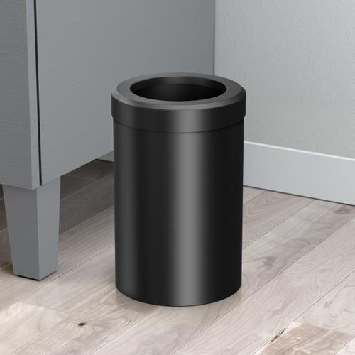 Round Modern Waste Basket in Chrome