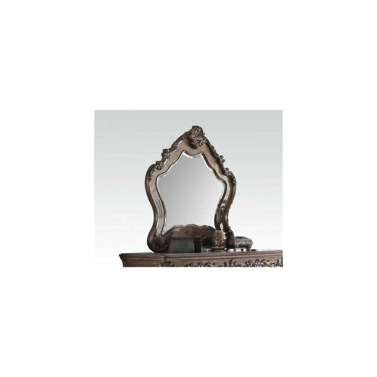ACME Ragenardus Mirror - 26314 - Vintage Oak