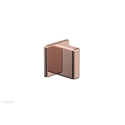 MIX Volume Control/Diverter Trim - Blade Handle 290-35 - Polished Copper