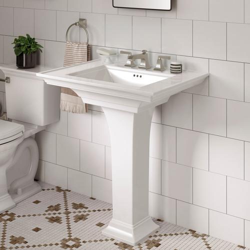 American Standard - Town Square S Pedestal Sink  American Standard - White