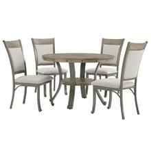 Franklin Dining Table Pewter