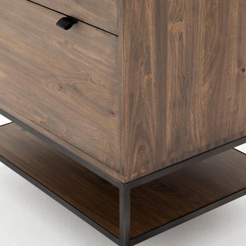 Auburn Poplar Finish Trey Modular Filing Cabinet