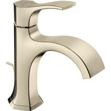 Polished Nickel Single-Hole Faucet 110 with Pop-Up Drain, 1.2 GPM