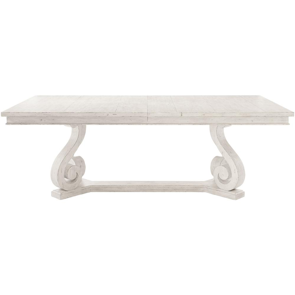 Mirabelle Rectangular Dining Table in Cotton (304)