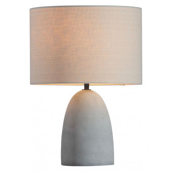 Vigor Table Lamp Beige & Gray