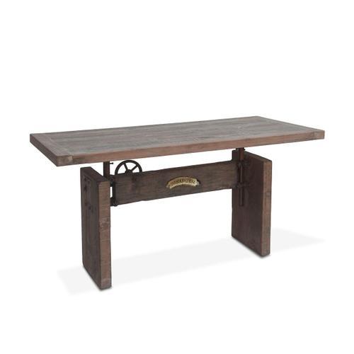 "Old Mill 63"" Reclaimed Wood Office Desk"