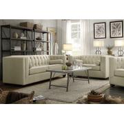 Cairns Transitional Beige Two-piece Living Room Set Product Image