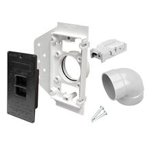 See Details - NuTone® Electra-Valve II Wall Inlet Rough-In Kit