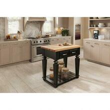 "36"" W x 24"" D x 1-3/4"" H Hard Maple Butcher Block Island Top"