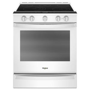 Whirlpool6.4 cu. ft. Smart Slide-in Electric Range with Scan-to-Cook Technology