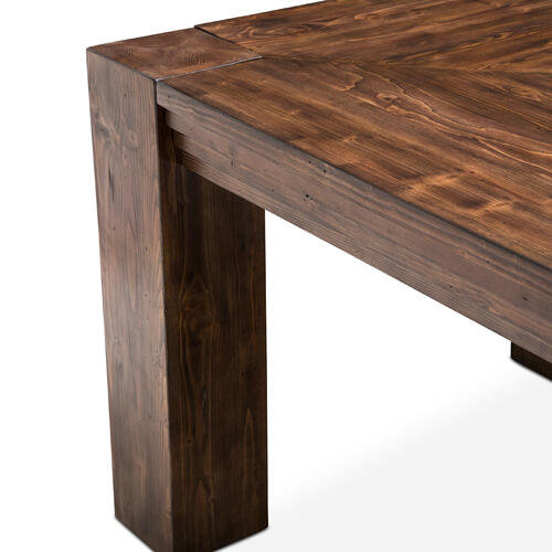 4 Leg Rectangular Dining Table (116 )