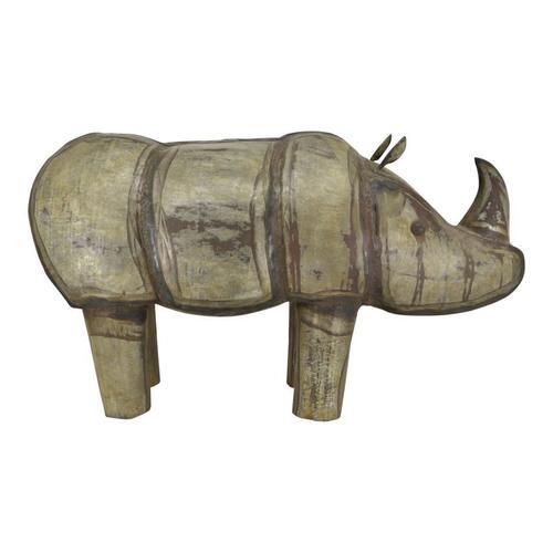 Moe's Home Collection - Iron Rhinoceros
