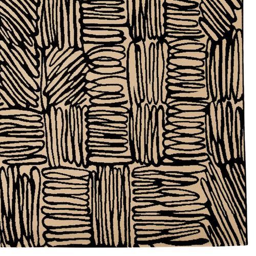 Doodles Raven Machine Woven Rugs